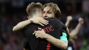 Rakitic and Modric - Croatia