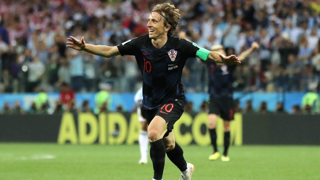 luka modric - croatia defeats england