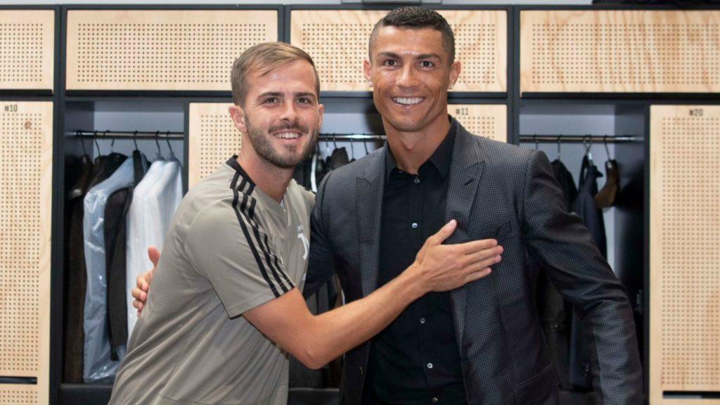 Pjanic and Ronaldo - Juventus