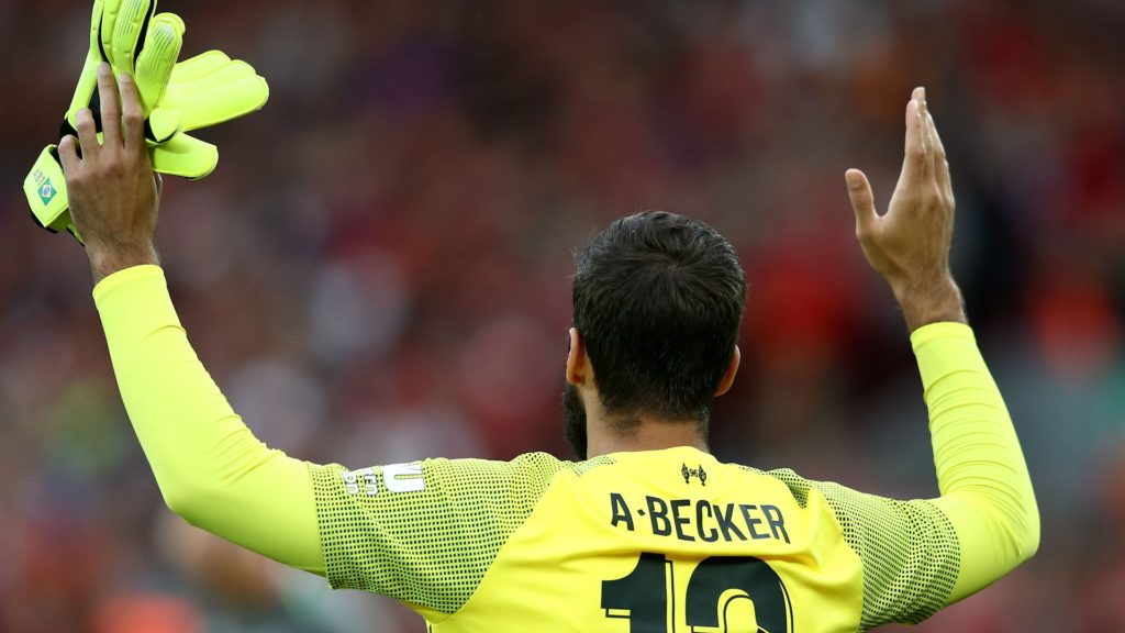 Allison Becker, new goalkpeer for Liverpool