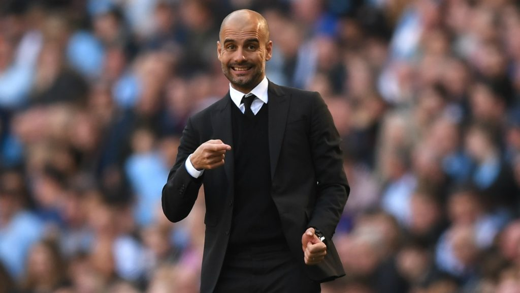 Pep Guardiola - Manchster City, one of the highest revenue earning clubs in the Premier League