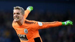 Jonas Lossl - Huddersfield