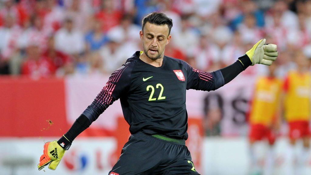 lukasz fabianski - West Ham United goalkeeper