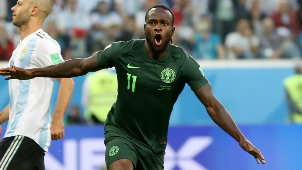 Victor Moses announces intetnions to retire from international football