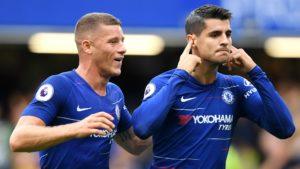 Alvaro Morata - Chelsea striker