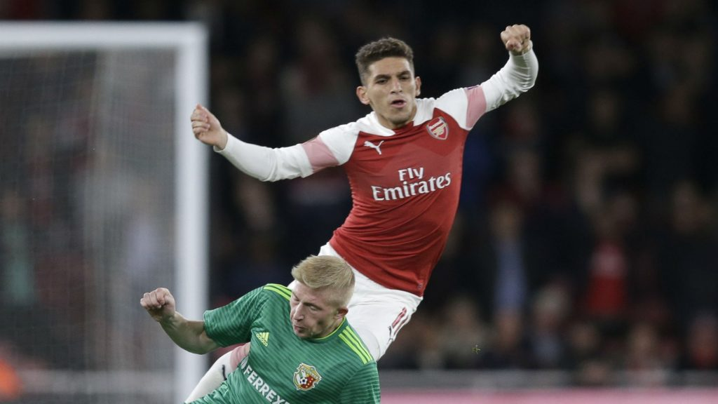 lucas torreira - arsenal, one of Europa League's favorites