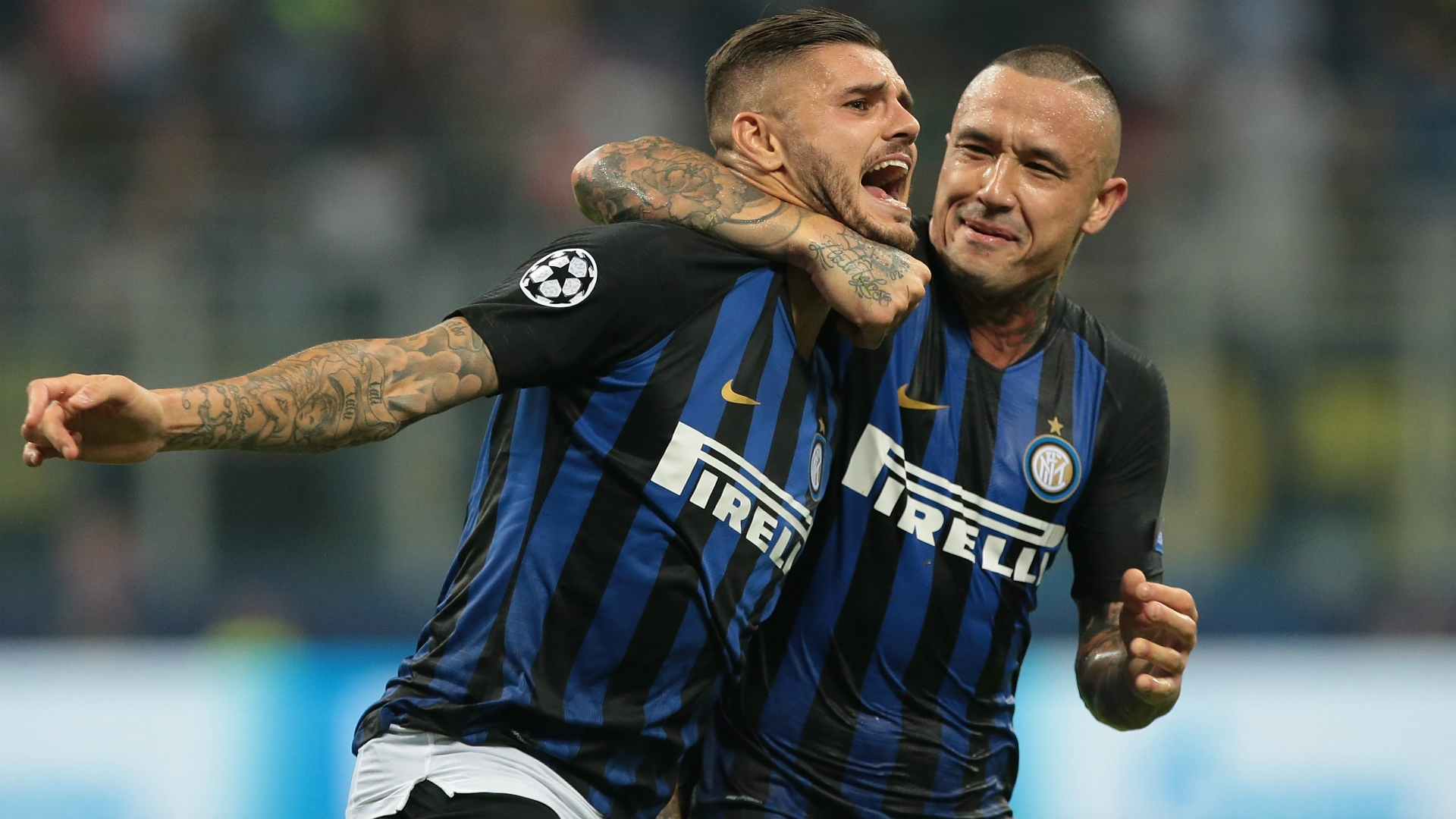 Mauro Icardi - scres a stunner in first day of the Champions League