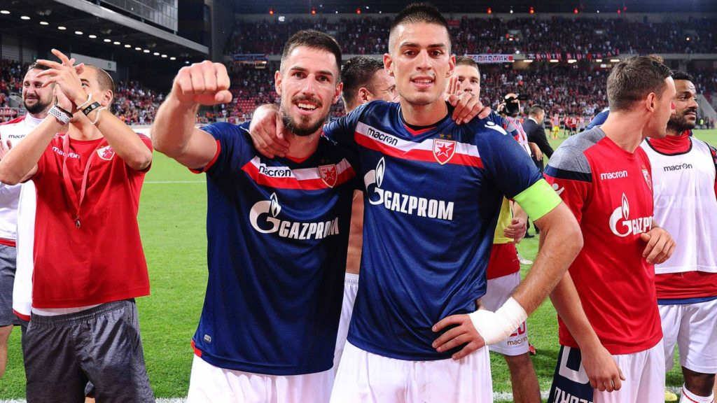 milos degenek - red star belgrade, champions league underdogs