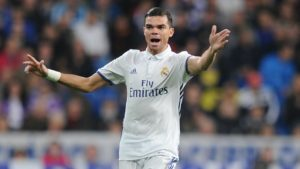 Pepe - formerly of Real Madrid, currently at Besiktas