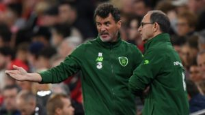 Roy Keane and Martin O'Neill - Ireland