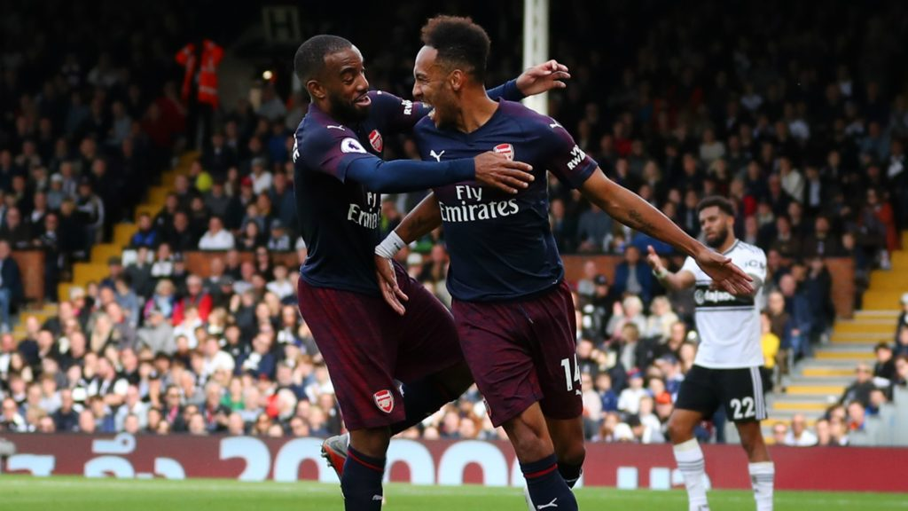 Aubamayenng and Lacazette - Arsenal players, two possib;e draft picks for your Europa League contests
