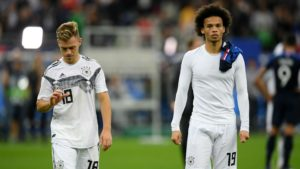 Joshua Kimmich and Leroy Sane - Germany