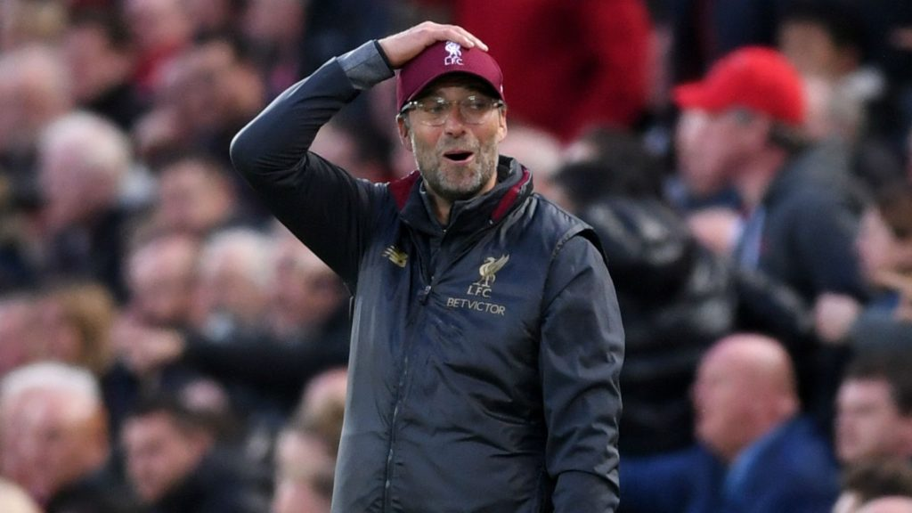 Jurgen Klopp - Liverpool manager after draw against champions Manchester City