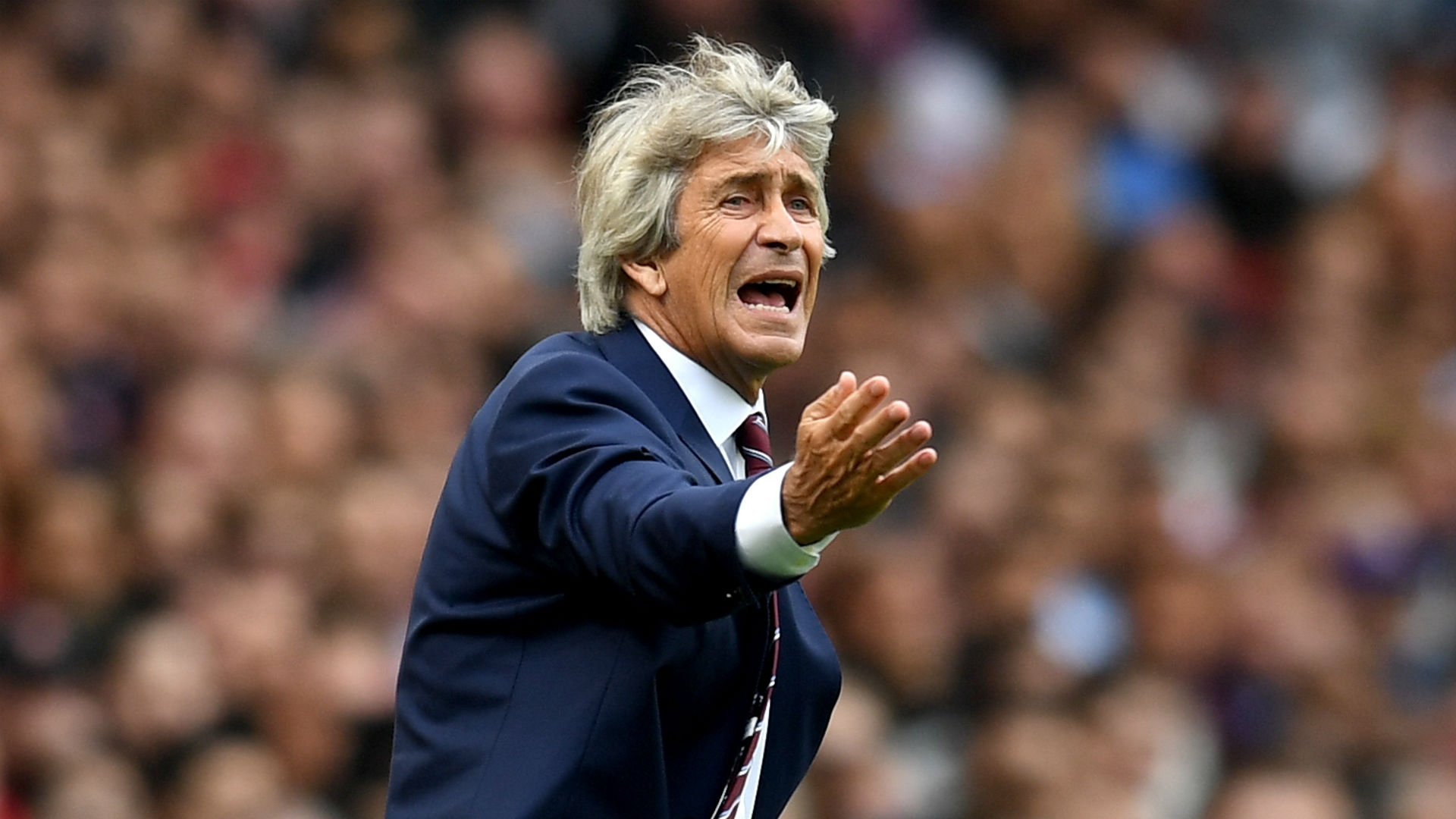 Manuel Pellegrini - West Ham, formerly of Real Madrid