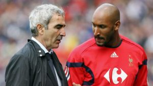 raymond domenech once sent nicolas anelka home from the world cup following France players' request