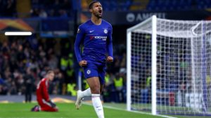 Ruben Loftus-Cheek (Chelsea) scores impressive Europa League hat-trick
