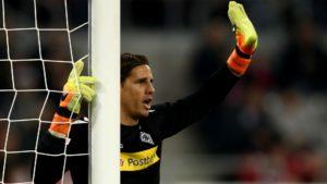 Borussia Monchengladbach goalkeeper Yann Sommer