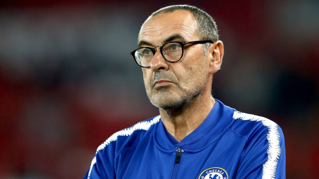 Maurizio Sarri - Chelsea manager unhappy with narrow victory over BATE borisov