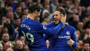 Morata and Hazard - Chelsea