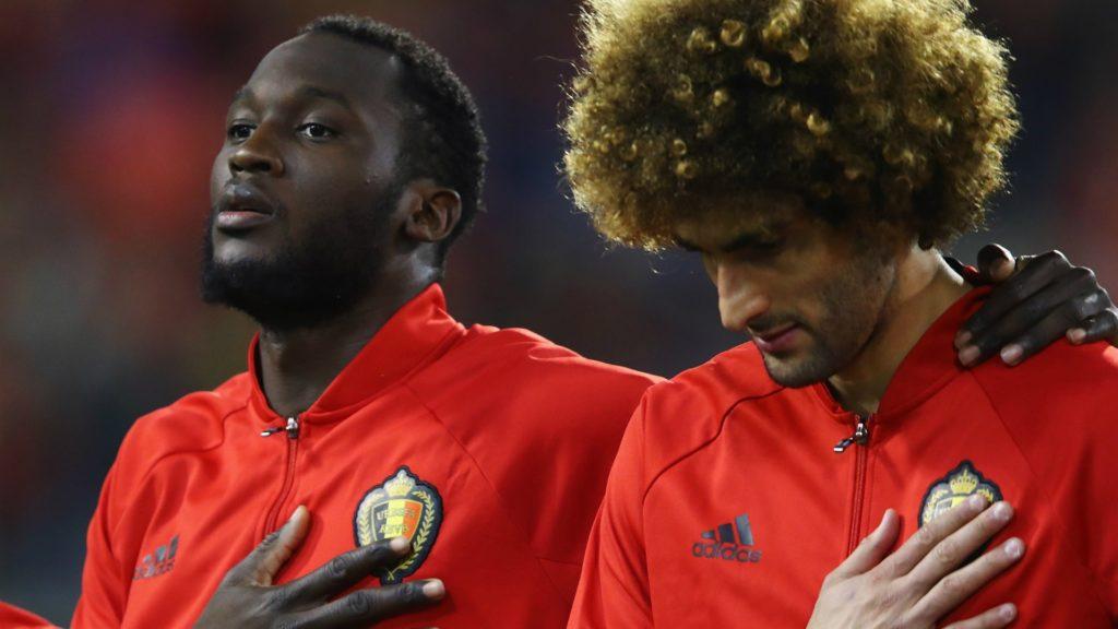 marouane fellaini, Manchester United's savior, and romlu lukaku