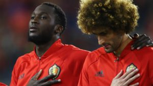 marouane fellaini, Manchester United's savior, and romlu lukaku