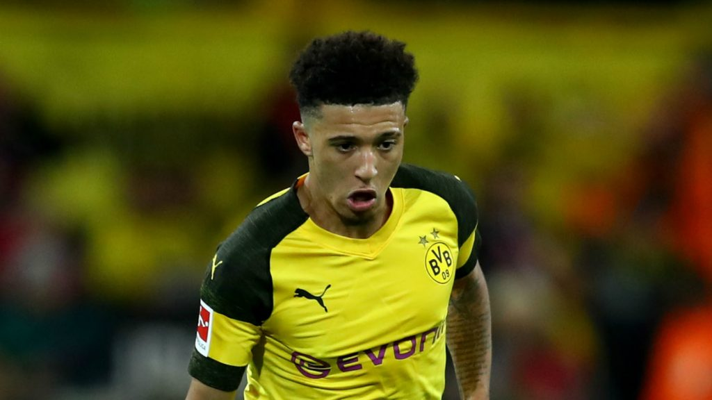Jadon Sancho, Borussia Dortmund's big hope as they try to extend their lead in front of the Bundesliga