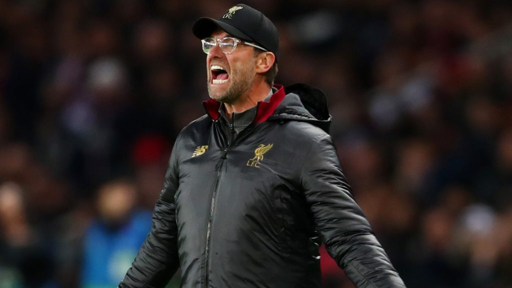 jurgen klopp - Liverpool manager, the new leaders of the Premier League