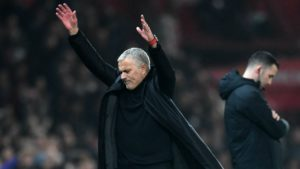 Jose Mourinho- Manchester United draws 2-2 to Arsenal