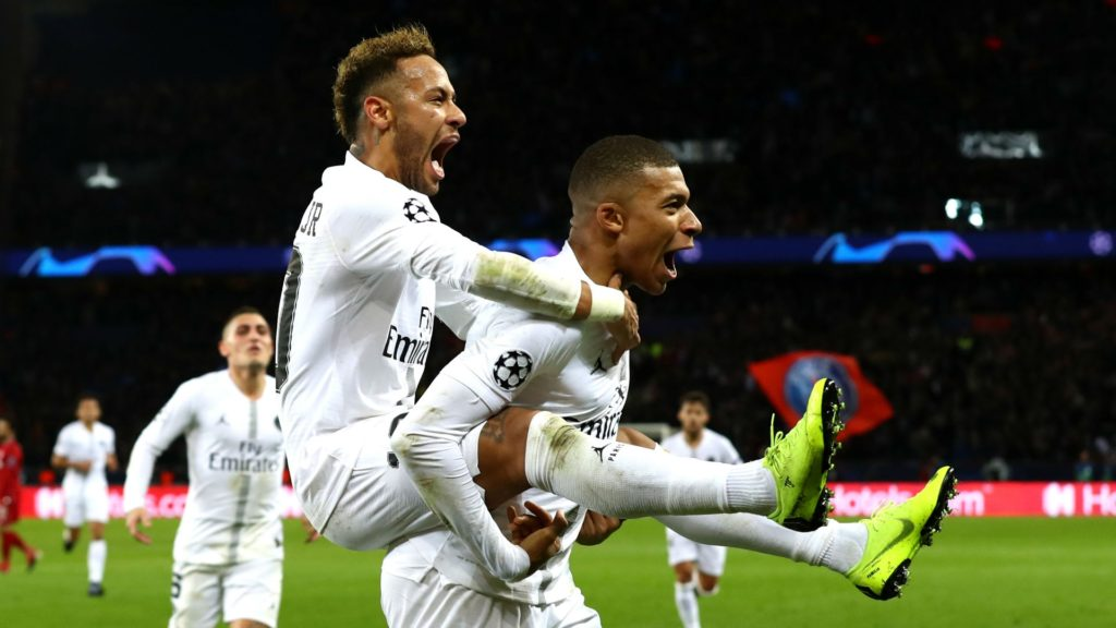 Neymar and Kylian Mbappe will try to lead PSG towards Champions League qualification. Napoli and Liverpool are also in the running