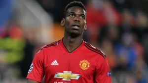 Paul Pogba - Manchester United, France, disappointed following defeat in last UCL group match