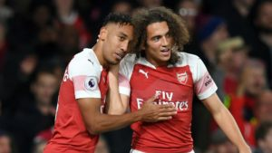 Aubameyang and guendouzi - arsenal, two of our main fantasy Premier League tips