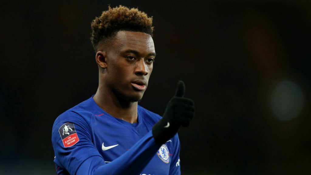 Callum Hudson-Odoi, a player wanted by both Bayern Munich and Chelsea
