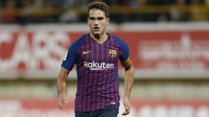 Denis Suarez completes his move from Barcelona to Arsenal on transfer deadline day