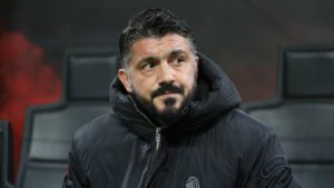 gennaro gattuso - coaching ac milan's players