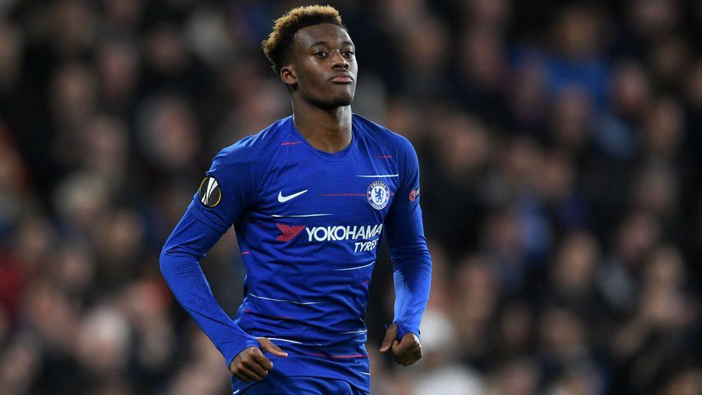 Callum Hudson-Odoi - Chelsea's striker