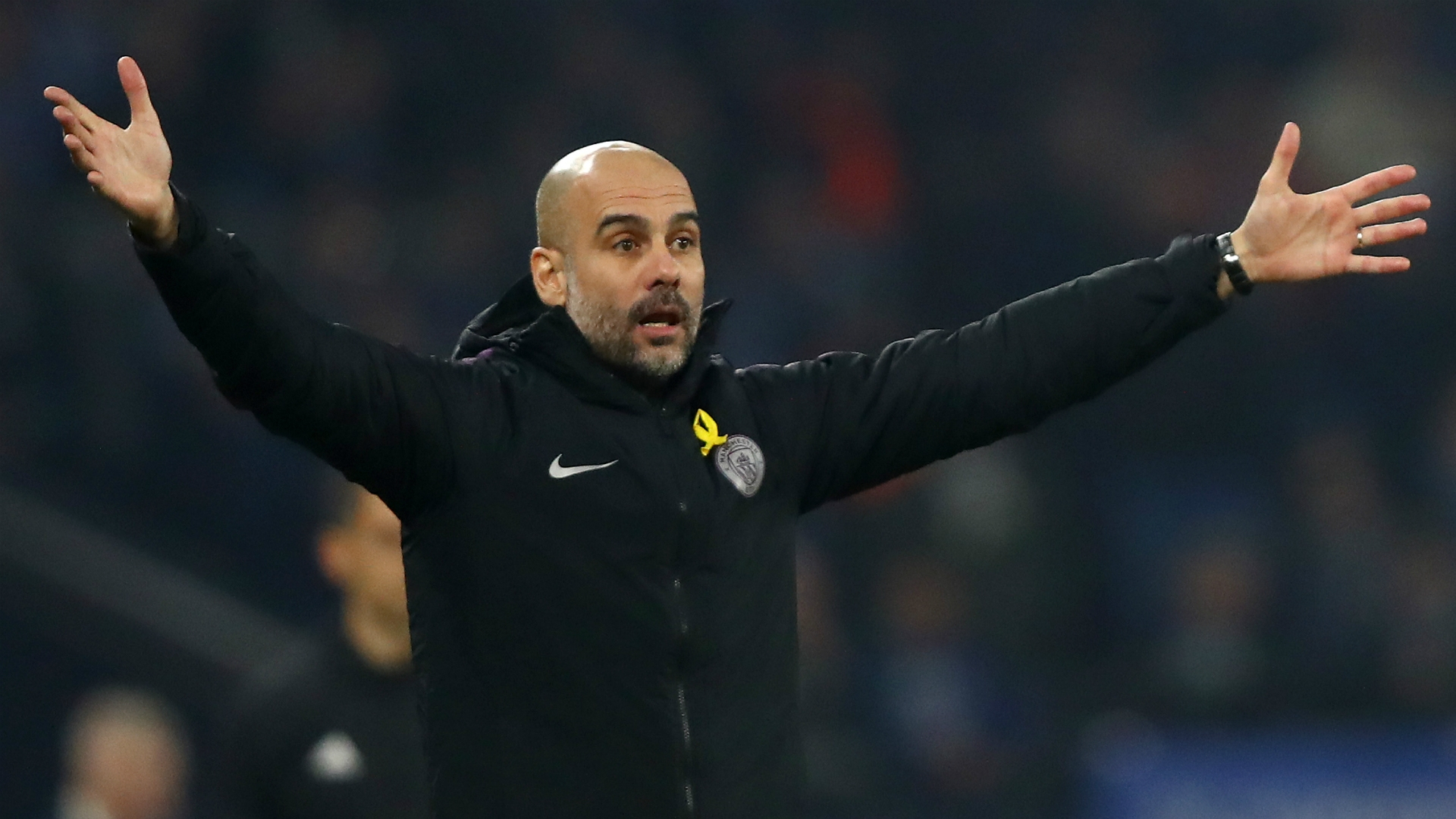 Pep Guardiola - Manchester City manager ahead of Champions League clash against Shalke 04