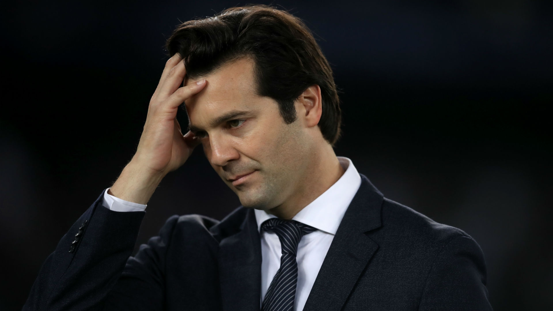 Santiago Solari - Real Madrid manager