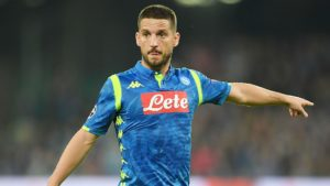 Dries Mertens of Napoli, one of Serie A top goalscorers and assists providers