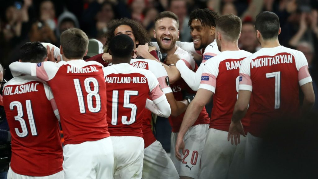 Arsenal qualify in the Europa League at the expense of Rennes