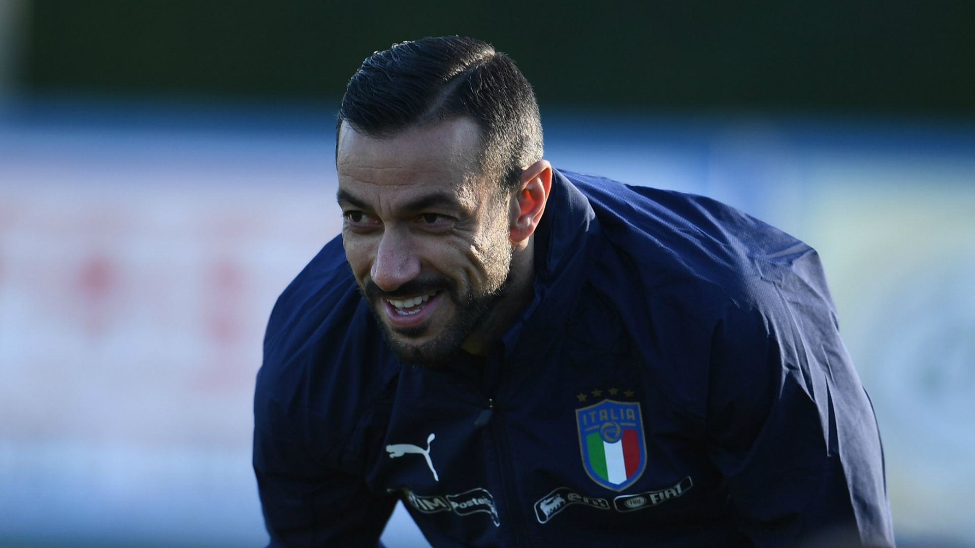 Fabio Quagliarella, oneof the best players in the Serie A, at 36 years old