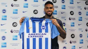 Locadia - remier League striker, Brighton transfer record