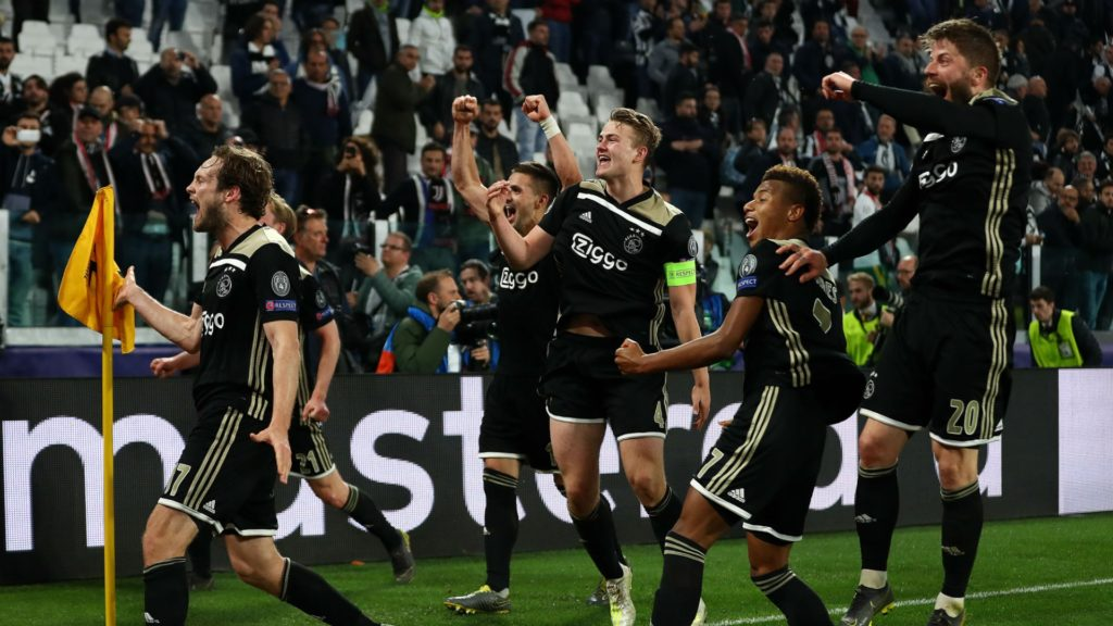 Ajax Amsterdam ahead of the Champions League semi-finals