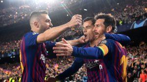 Lionel Messi and FC Barcelona teammates - La Liga fantasy football