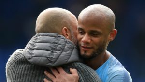 Vincent Kompany - Manchester City set to become free agent by summer