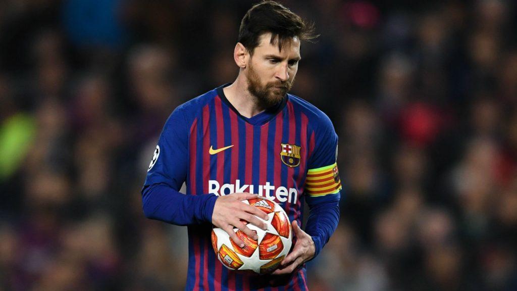 fantasy football hero, Lionel Messi, of FC Barcelona, ahead of the Champions League semi-final