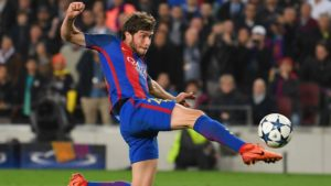 fantasy football player Sergi Roberto ahead of the Champions League clash against Liverpool