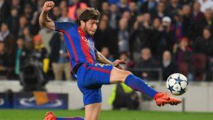 fantasy football player Sergi Roberto ahead of the Champions League clash against Liverpool