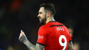 Danny Ings, Southampton (Premier League derbies)