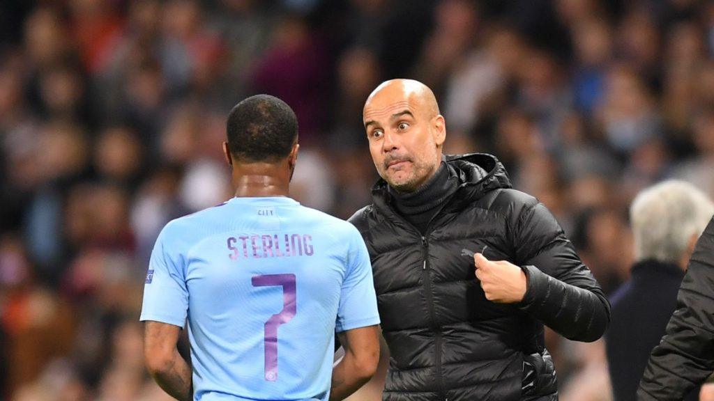 Raheem Sterling and Pep Guardiola - Manchester City, Premier Leaguefinancial fair play financial fair play man city financial fair play rules financial fair play premier league financial fair play regulations financial fair play uefa