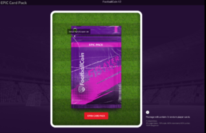 player pack in FootballCoin